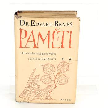 Kniha Orbis Paměti Dr. Edvard Beneš
