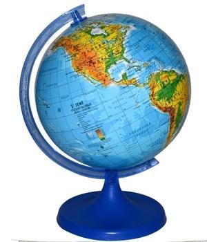 Glóbus Wiky 16 cm zeměpisný