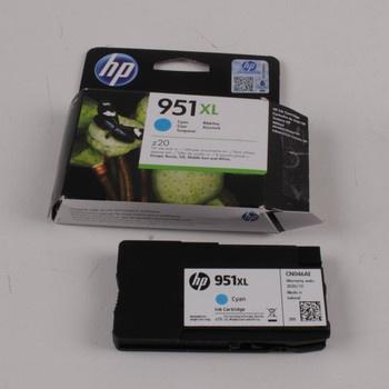 Inkoustová náplň HP 951 XL Cyan (Azurová)