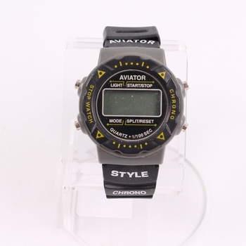 Pánské hodinky Aviator Style Chrono