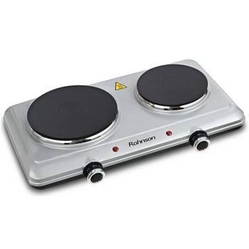Dvouplotýnkový vařič Rohnson R-2440 stříbrný