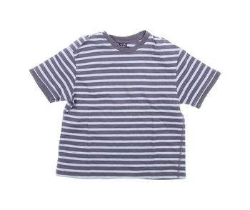 Dětské tričko Next pruhované modrošedé