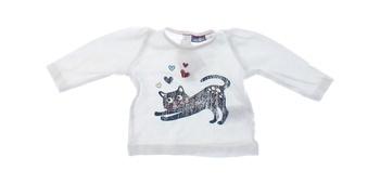 Kojenecké tričko Lupilu s obrázkem kočičky