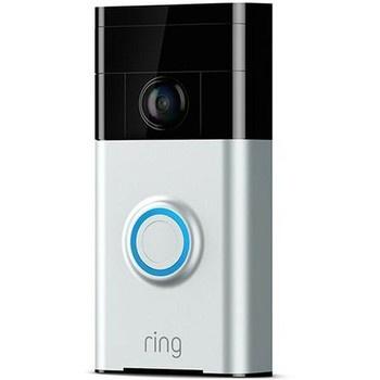 Smart videozvonek Ring Doorbell Satin Nickel