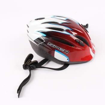 Cyklistická helma SPEQ červenočerná