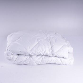 Bílá peřina na postel 200 x 140 cm