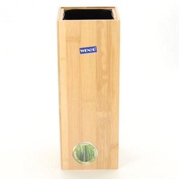 Nádoba na WC štětku Wenko bambusový
