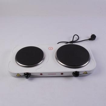Elektrický vařič Cuisinier P207B bílý