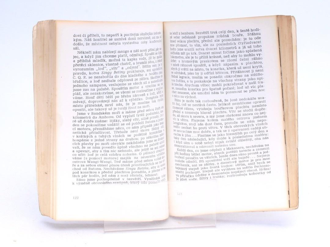 Kniha Krutá plavba Henri Bourdens