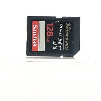 SD karta Sandisk Extreme Pro 128 GB