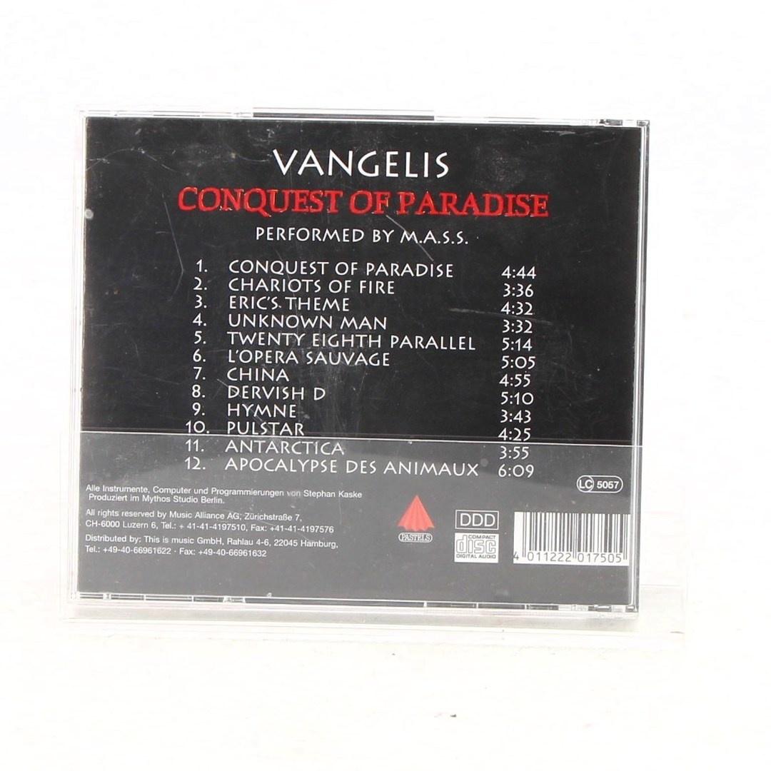 CD Vangelis- conquest of paradise