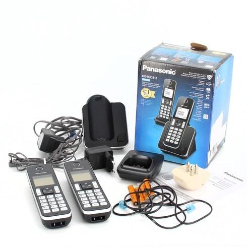 Bezdrátové telefony Panasonic KT-TGD312