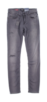 Dámské kalhoty Replay šedé