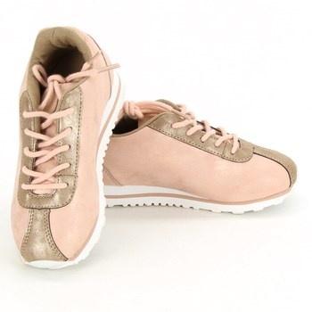 Dívčí boty La Redoute růžové