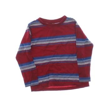 Dětské triko Cherokee červené s pruhy