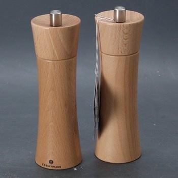 Sada dřevěných mlýnků Zassenhaus 18 cm