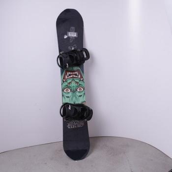Unisex snowboard Capita černý s ďáblem