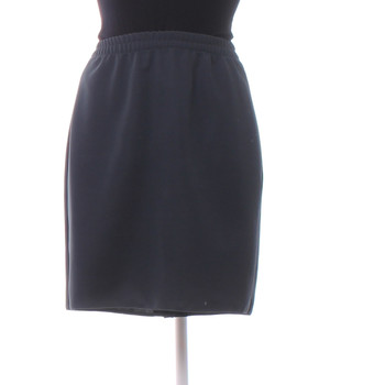 1eb7180f4fe Dámská sukně na gumě tmavě šedá