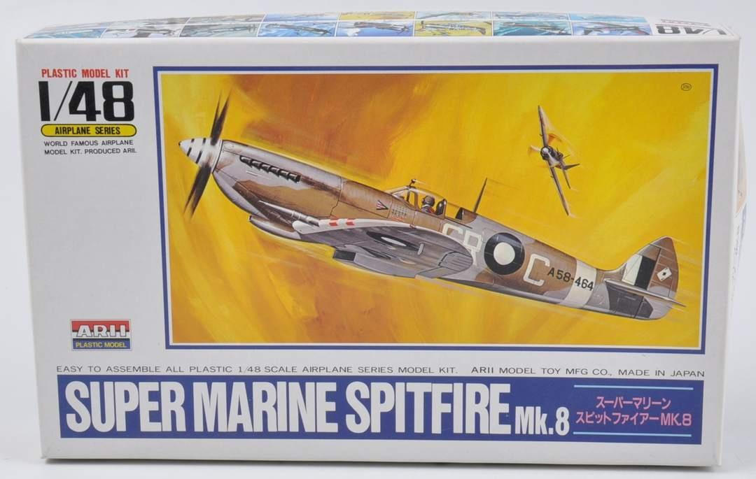 Model letadla Super Marine Spitfire Mk.8