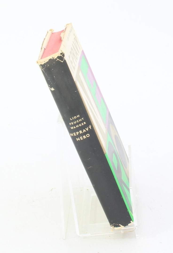 Kniha Lion Feuchtwanger: Nepravý Nero