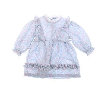 Dětské šaty se zdobením a volánky Roget