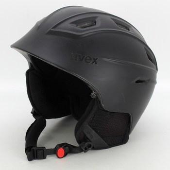 Lyžařská přilba Uvex, černá