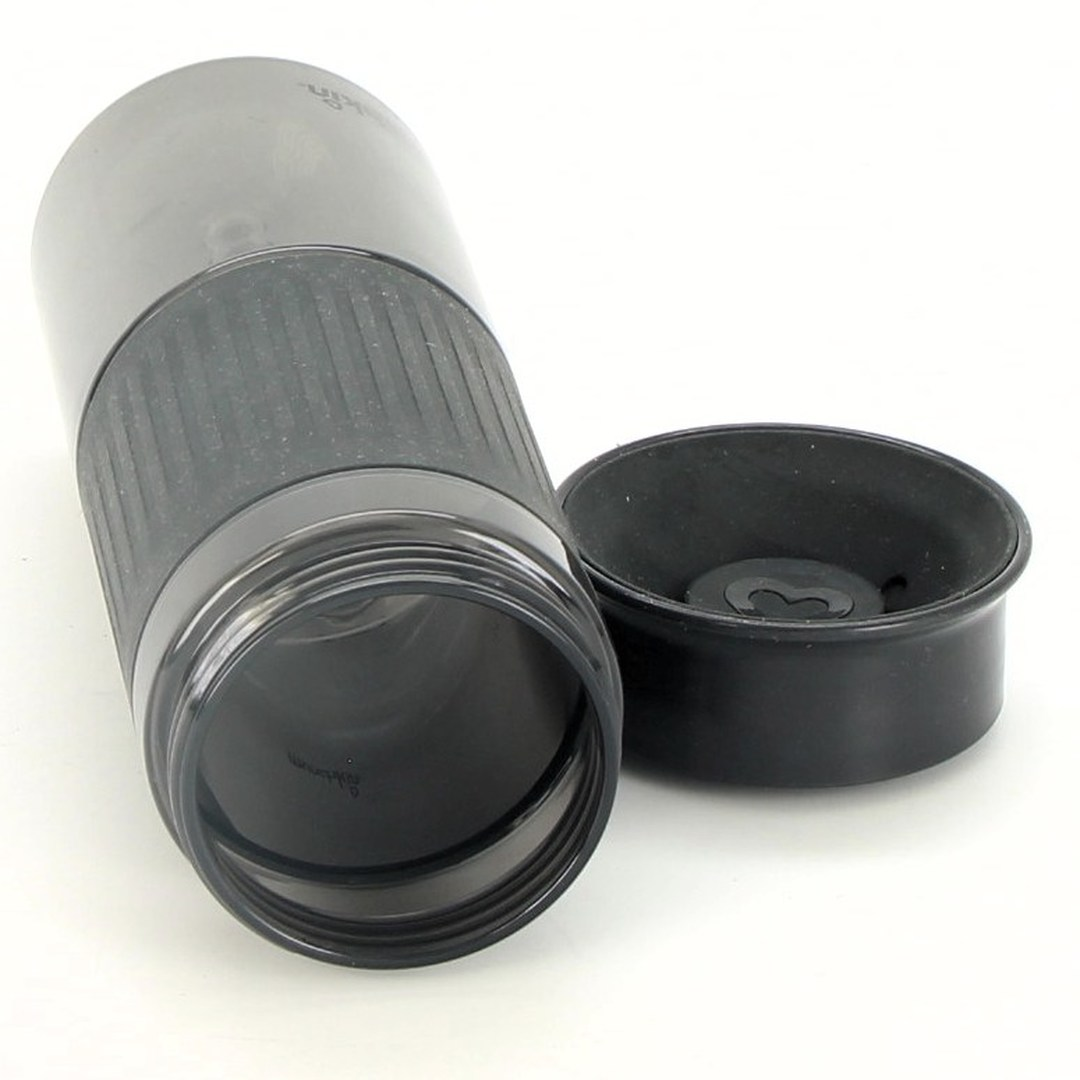 Plastová láhev Munchkin černá