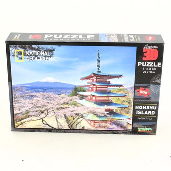 3D puzzle National Geographic Honshu Island