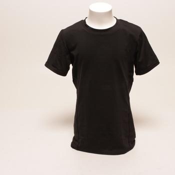 Pánské kompresní tričko Amzsport černé S