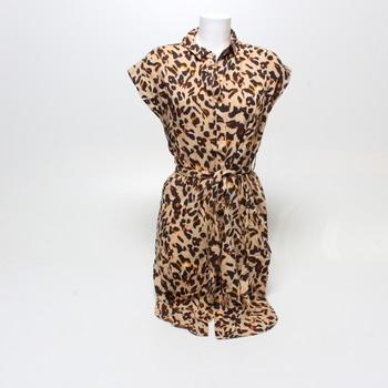 Dámské šaty Pieces tygrované