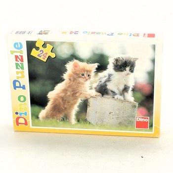 Puzzle DINO 010154 koťátka 24 dílků