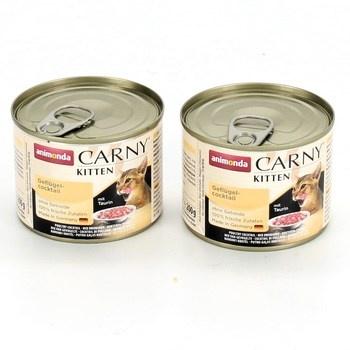 Konzervy pro kočky Animonda Carny 2 x 200 g