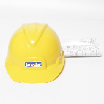 Stavbařská helma 10200 Bruder žlutá