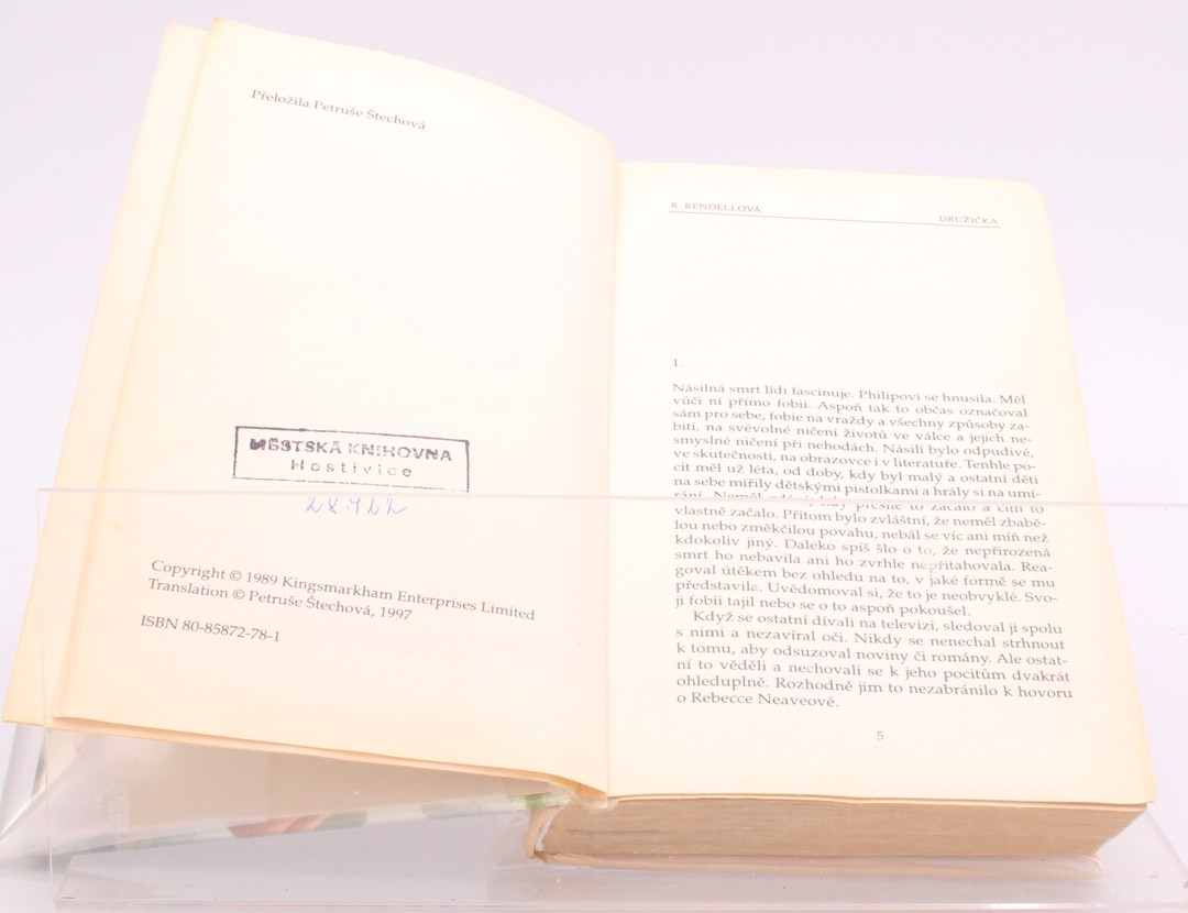 Kniha R. Rendellová: Družička