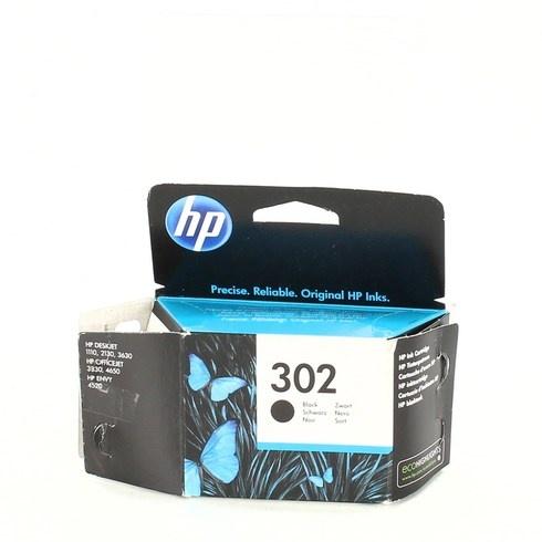 Inkoustová černá náplň HP 302