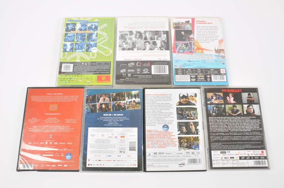 7x DVD film - O život, Rock podvraťáků a
