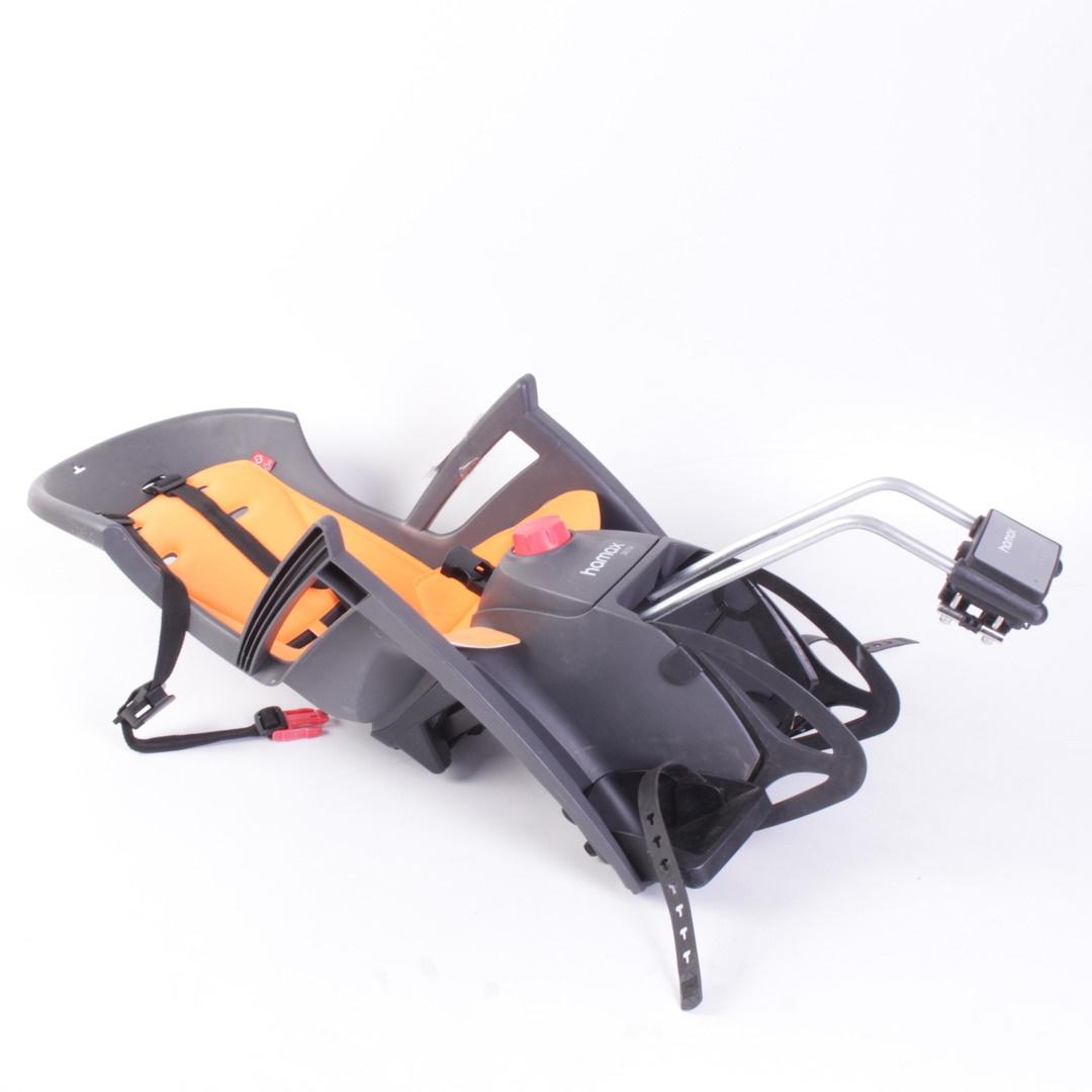Dětská sedačka na kolo Hamax Siesta oranžová