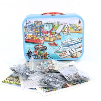 Sada puzzle Schmidt 56508 Přístav