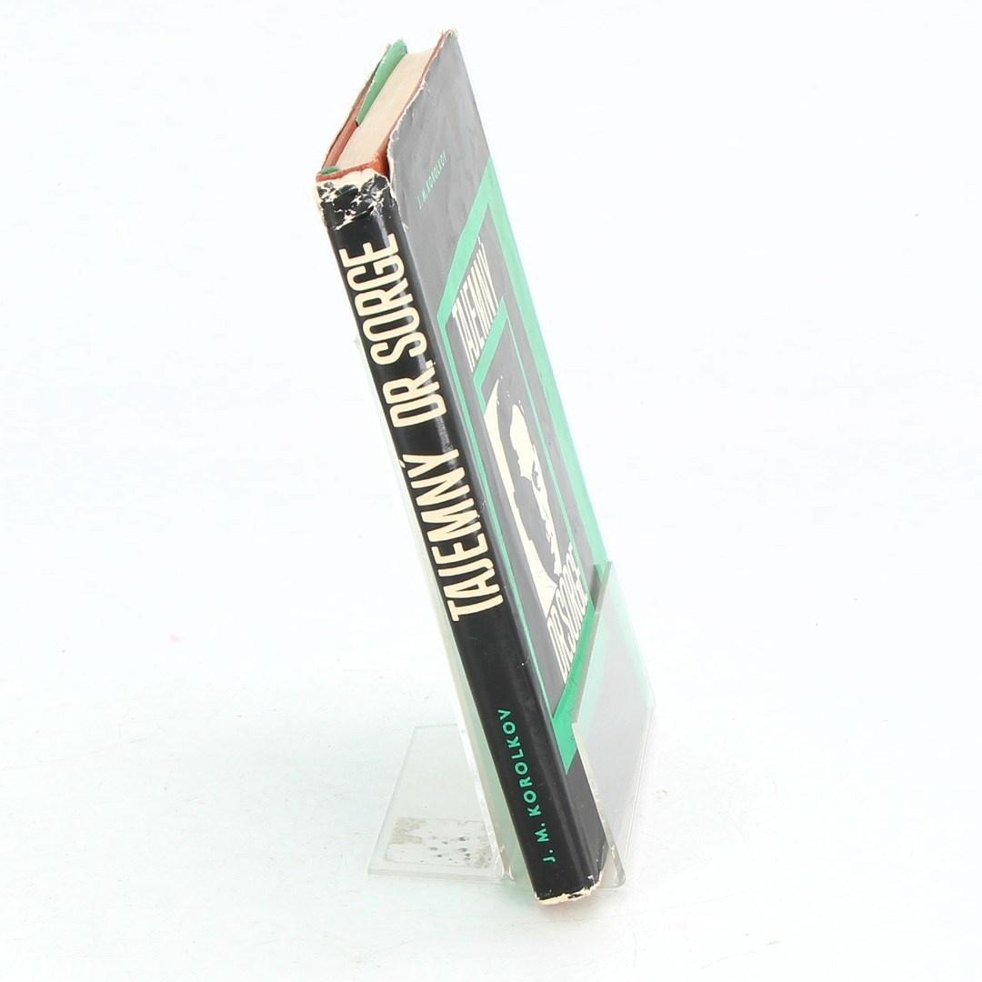 Kniha Tajemný Dr. Sorge - J.M. Korolkov