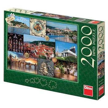 Puzzle DINO pohledy na Prahu