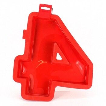 Forma Lékué 0214004R01M032 ve tvaru čísla 4