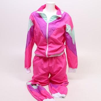 Karnevalový kostým Widmann 80. léta pink