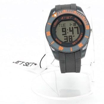 Digitální hodinky Jet Set J9349 šedé