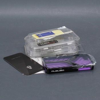 Kryt Musubo Eden iPhone 4/4S fialový