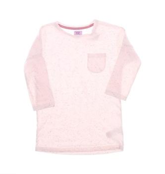 Dívčí tričko F&F růžové s kapsičkou