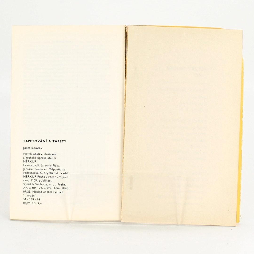 Kniha Tapetování a tapety