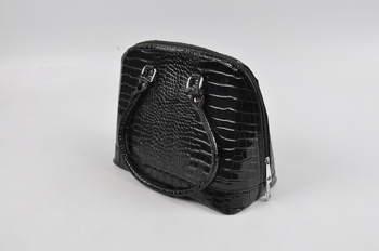 Dámská kabelka koženková černá