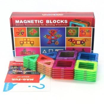 Magnetická stavebnice Magnetic blocks