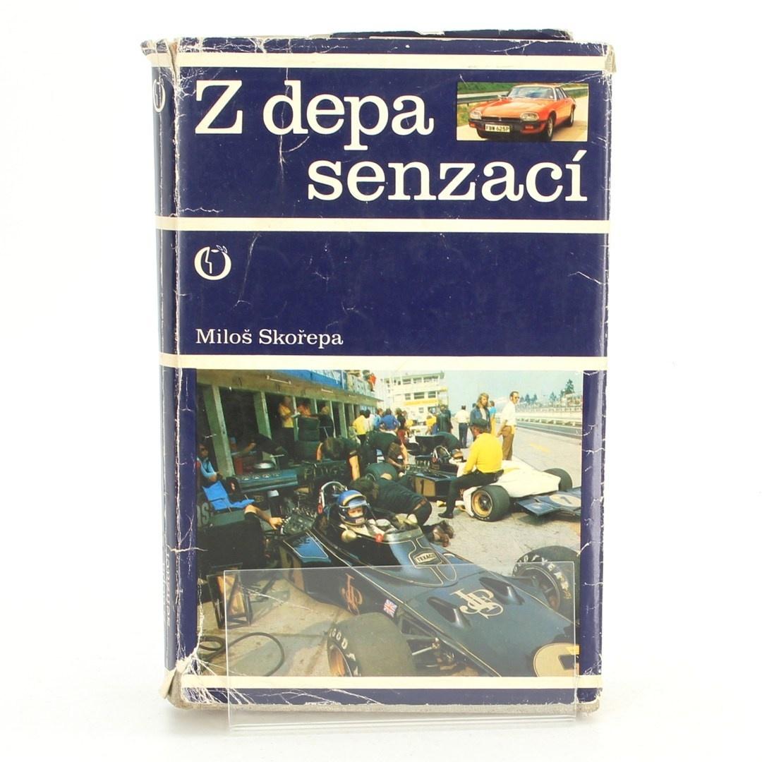 Kniha Miloš Skořepa: Z depa senzací
