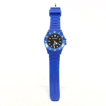 Silikonové hodinky Dunlop modré